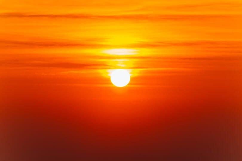 Neuro Emotional Technique - sun at sunset - Fruit-Powered