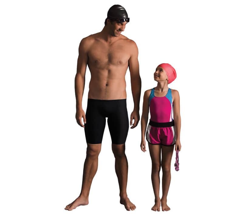 Proper standing posture - Michael Phelps - Posture Exercises Method - Fruit-Powered