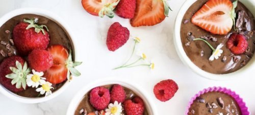 Caileigh's Creamy, Dreamy Chocolate Mousse Recipe from Caileigh Feldman - Fruit-Powered