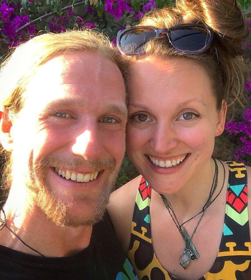 Chris Kendall and Kamilla Jonvik smiling outside - Fruit-Powered