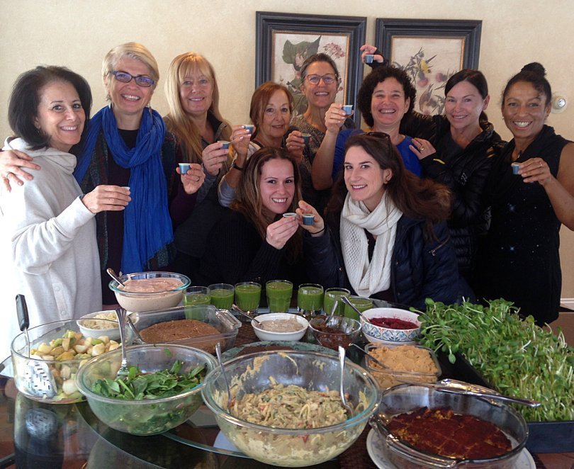 How to host a wellness retreat - Karen Ranzi - Women's Health Retreat 2018 - Fruit-Powered