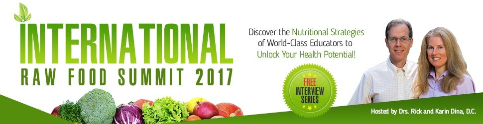 International Raw Food Summit 2017 banner - Fruit-Powered