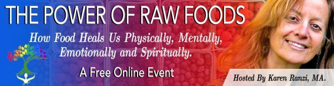 The Power of Raw Foods 2017 banner - Fruit-Powered