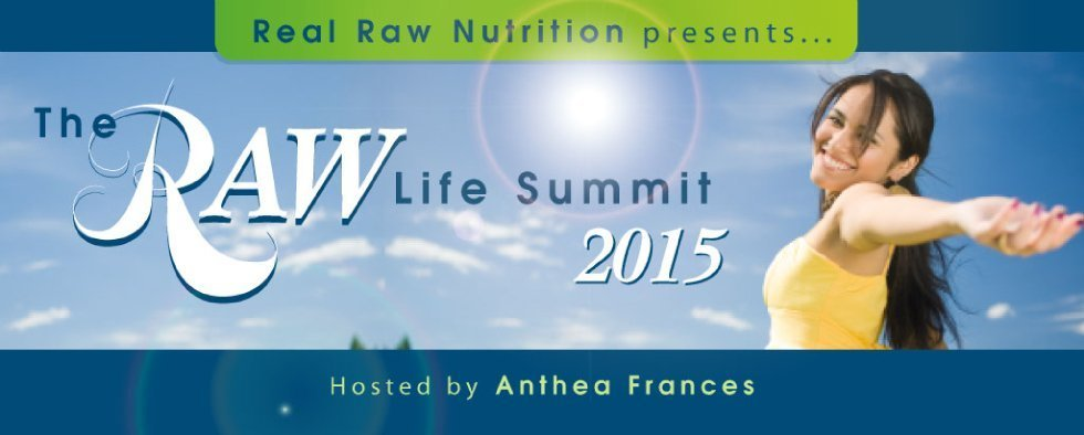 The Raw Life Summit 2015 banner - Fruit-Powered