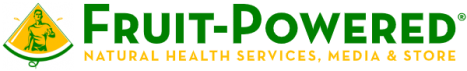 Fruit-Powered logo - 2019 - natural health services, media and store