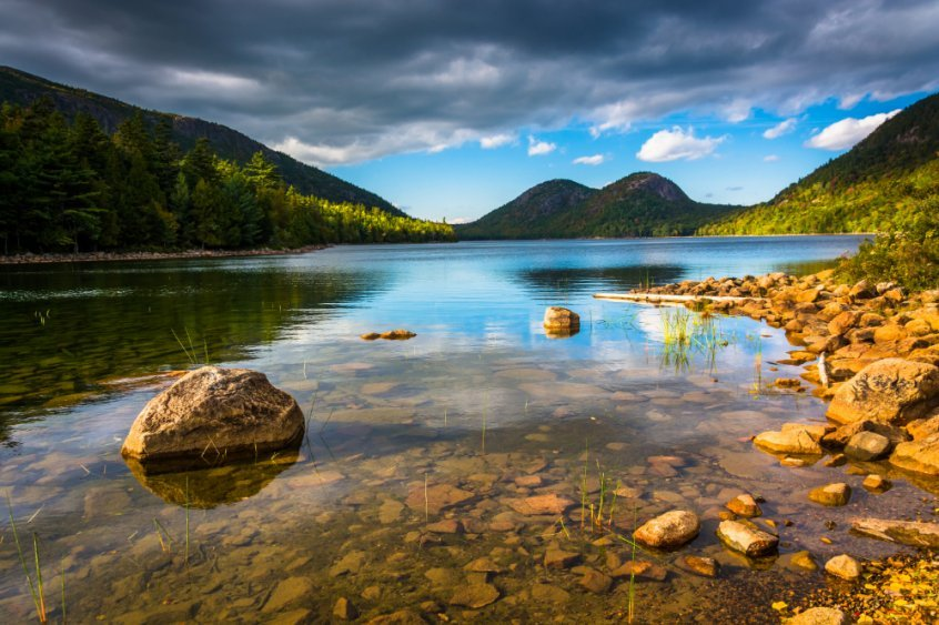 Make every day Earth Day to save the planet - Jordan Pond at Acadia National Park - Fruit-Powered