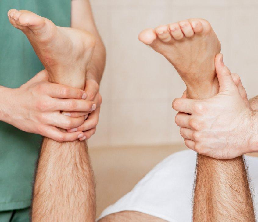 Leg-length discrepancy - chronic pain - chiropractor measuring legs - Fruit-Powered
