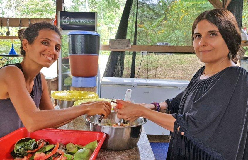 Amazon Fruit Festival - Terra Frutis - women preparing food - Fruit-Powered