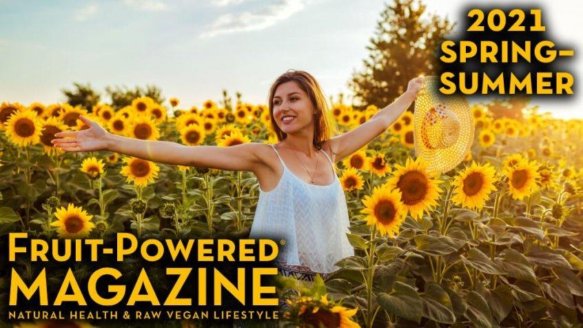Fruit-Powered Magazine - Spring-Summer 2021 cover