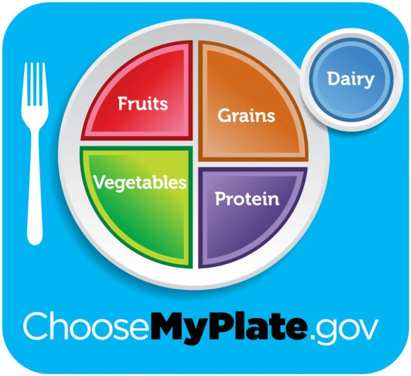 MyPlate dietary guidelines - Fruit-Powered