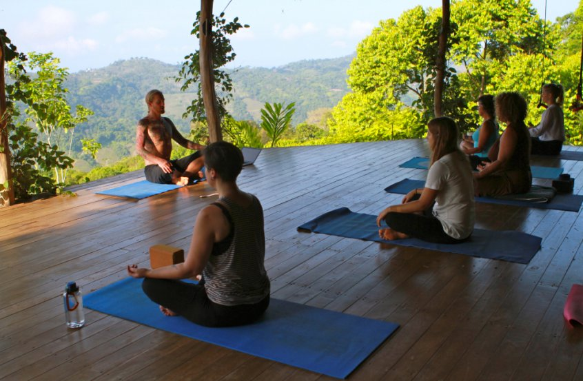 Yoga instructor - Chris Kendall - Farm of Life - health retreat - Fruit-Powered