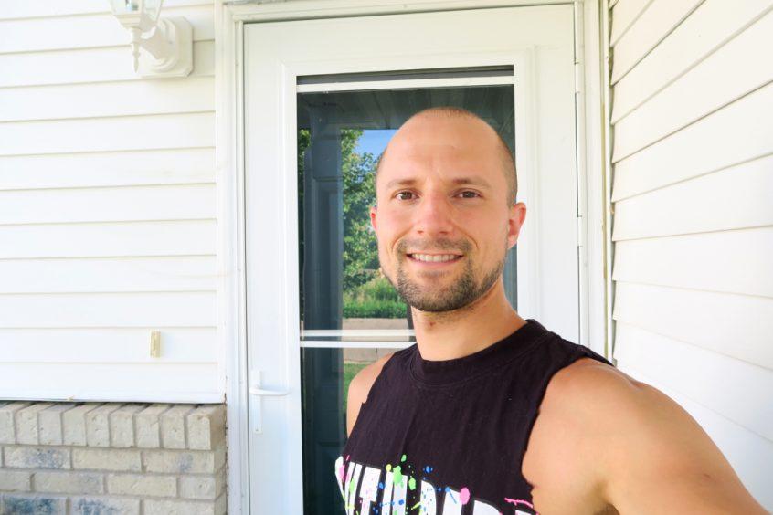 Matt Bennett smiling outside - Fruit-Powered
