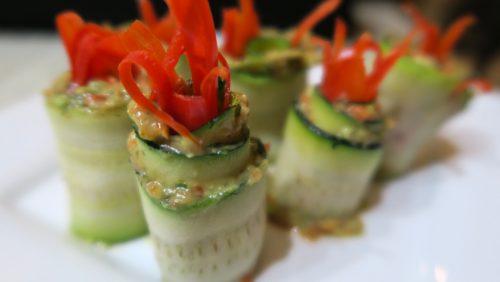 Raw Vegan Recipes - Cucumber Dill Rollups - Fruit-Powered