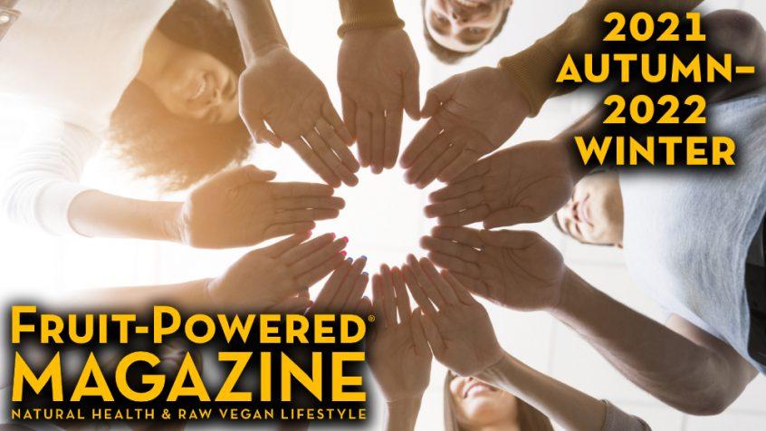 Fruit-Powered Magazine - Autumn 2021-Winter 2022 cover