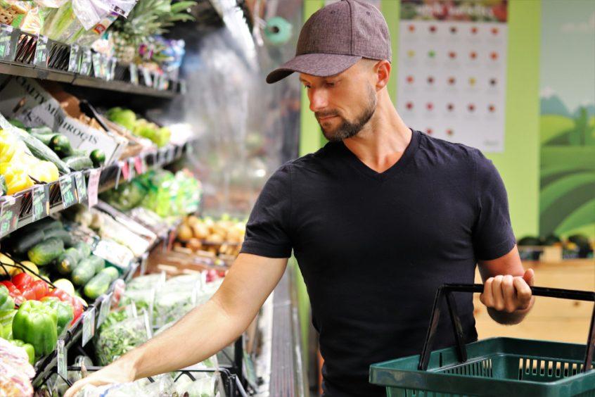 Matt Bennett - raw vegan grocery shopping - Fruit-Powered