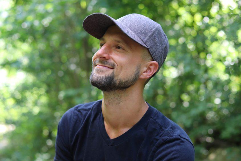 Matt Bennett smiling in nature - Fruit-Powered