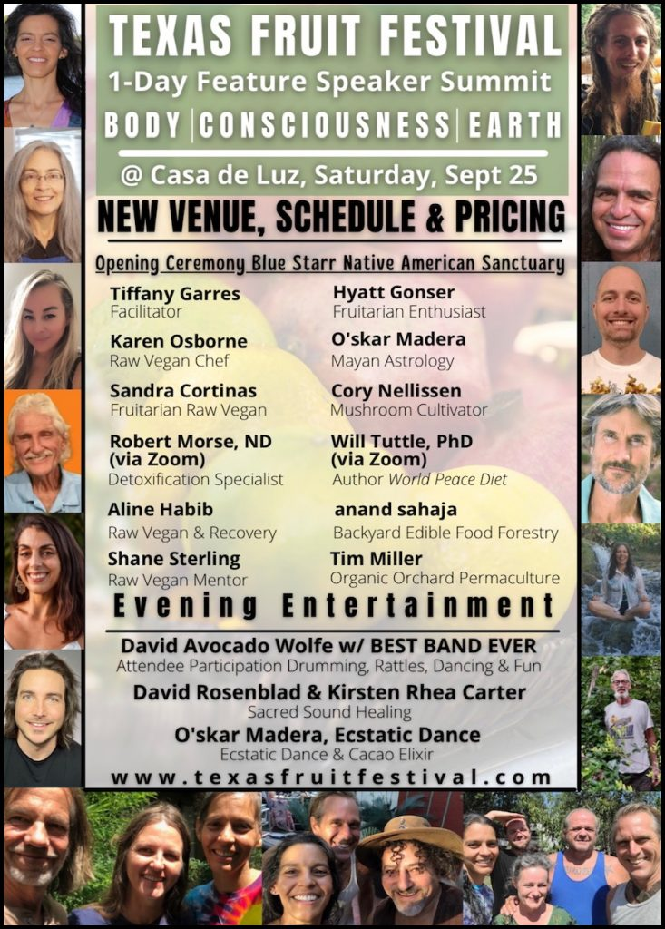 Texas Fruit Festival featured speakers - Fruit-Powered