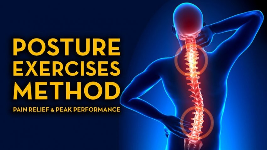 Posture Exercises Method - Pain Relief and Peak Performance - Fruit-Powered